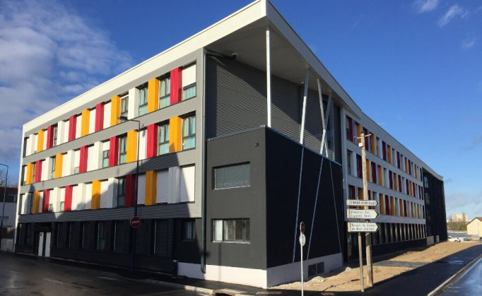 Modular student housing in France